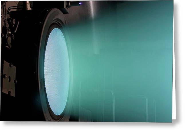 Ion Thruster Greeting Card