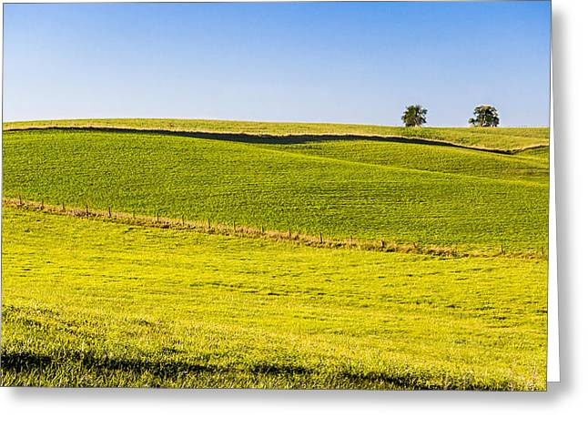 Iowa Farm Land #2 Greeting Card