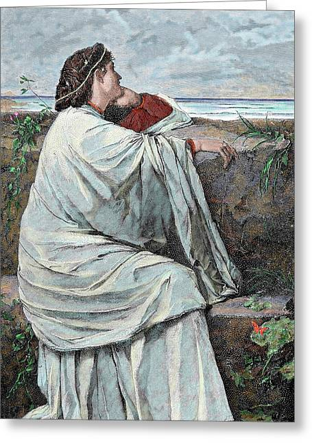 Iphigenia Daughter Of Agamemnon Greeting Card