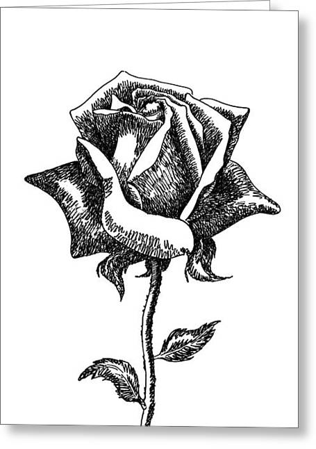 iPhone-Case-Flower-Rose1 Greeting Card