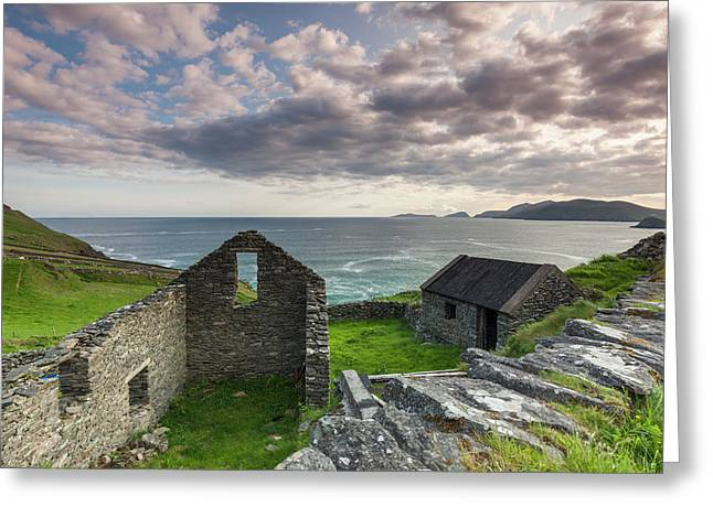 Ireland, County Kerry, Slea Head Drive Greeting Card
