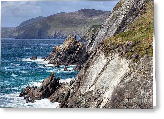 Ireland - Dingle Coast Greeting Card by Juergen Klust