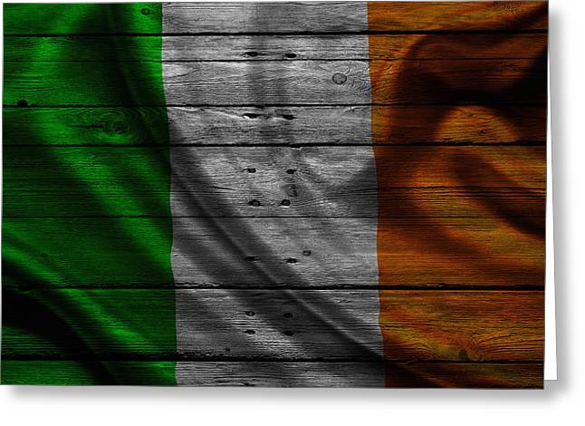 Ireland Greeting Card by Joe Hamilton
