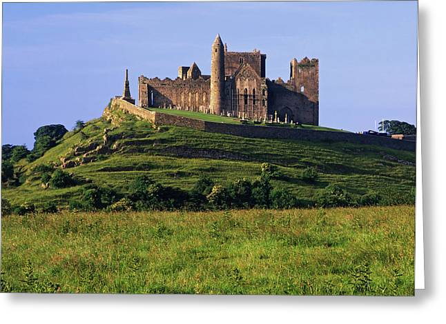 Ireland Rock Of Cashel Medieval Castle Greeting Card