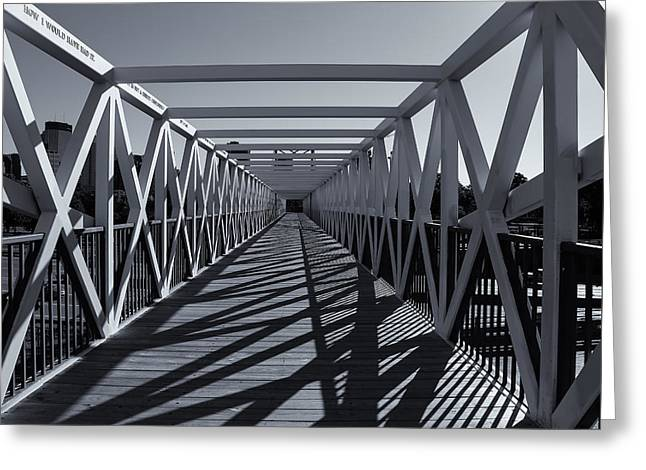 Irene Hixon Whitney Bridge  Mono Greeting Card