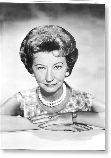 Irene Ryan In The Beverly Hillbillies  Greeting Card