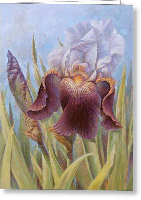 Iris 1 Greeting Card