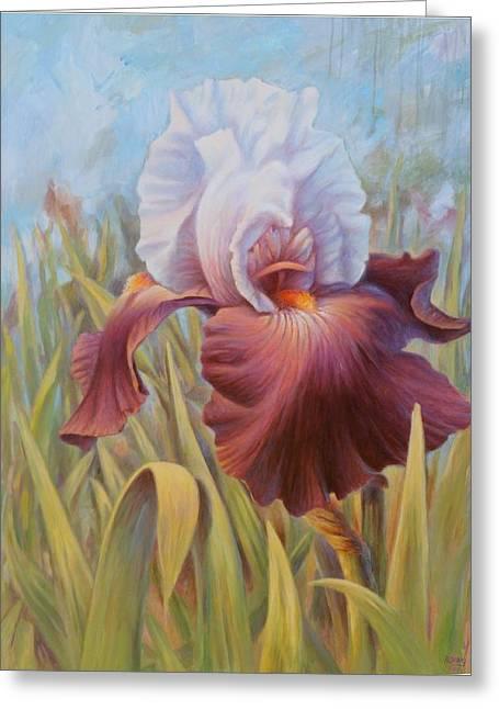 Iris 2 Greeting Card
