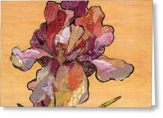 Iris II - Series II Greeting Card by Shadia Derbyshire