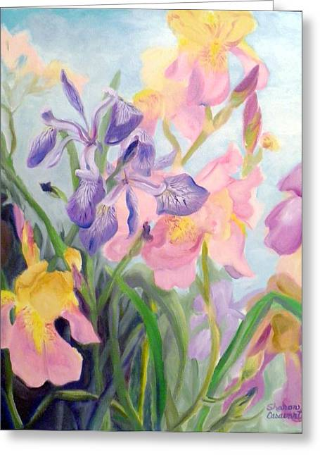 Iris Medley Greeting Card