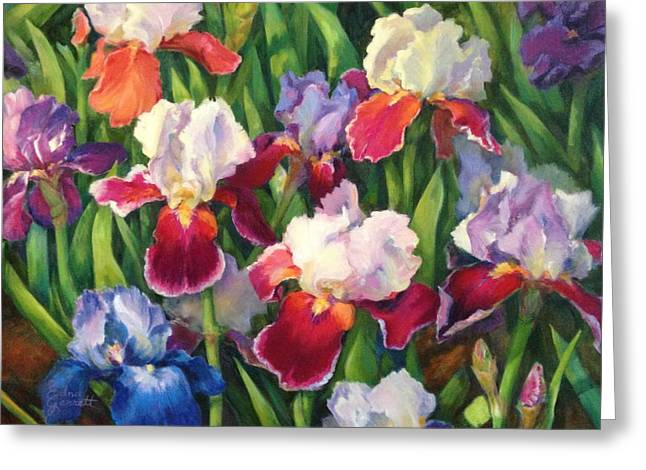 Irises2 Greeting Card