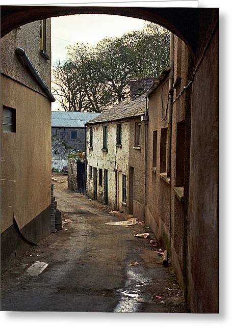 Irish Alley 1975 Greeting Card