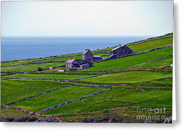 Irish Farm 1 Greeting Card