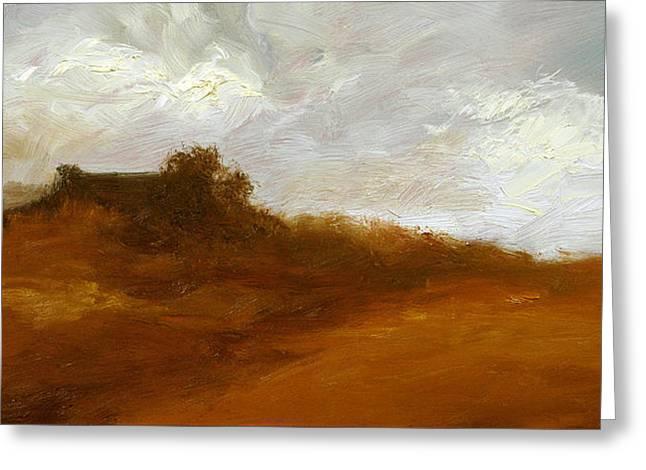 Irish Landscape IIi Greeting Card by John Silver
