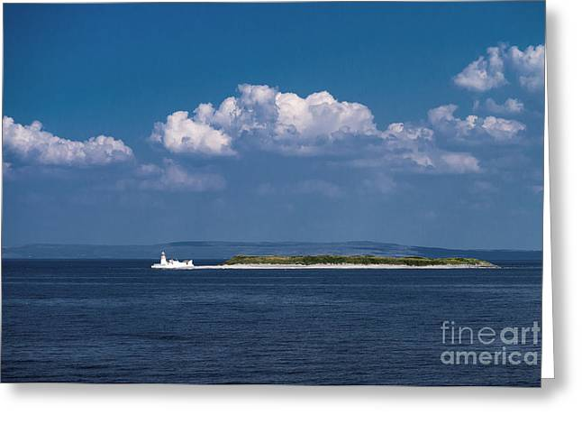 Irish Lighthouse  Greeting Card by Juergen Klust