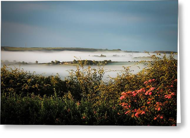 Irish Mist Over Lissycasey Greeting Card