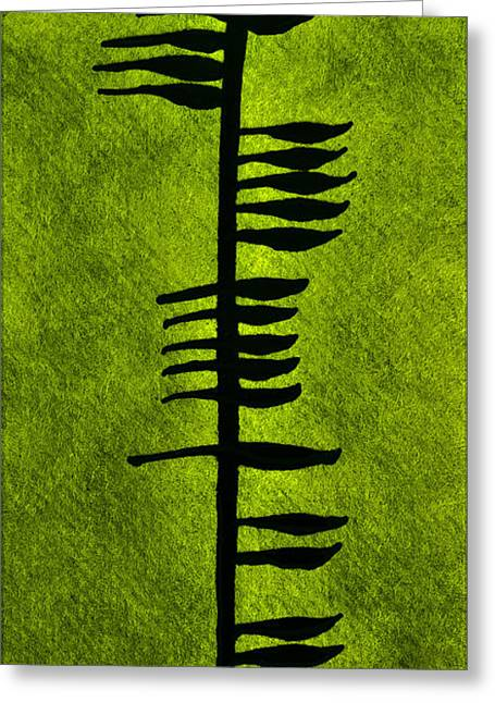 Irish Ogham Meaning Health Greeting Card