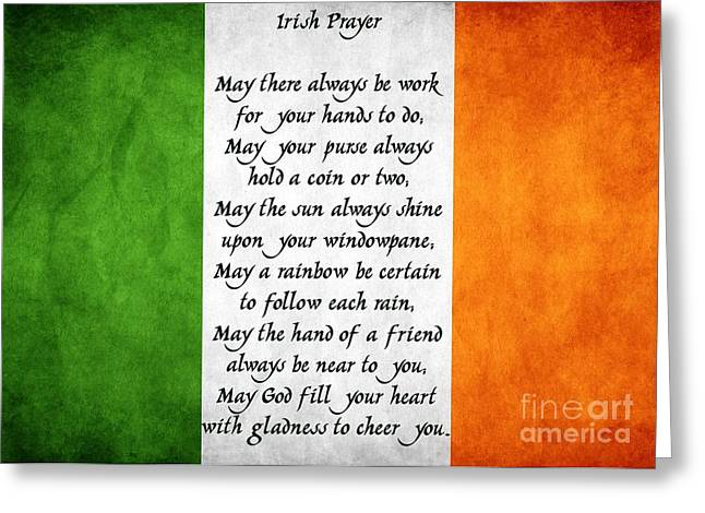 Irish Prayer Greeting Card