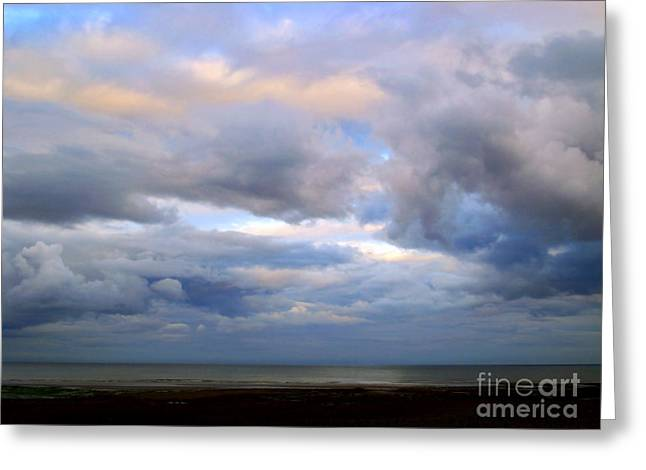 Irish Sea Greeting Card by Nina Ficur Feenan
