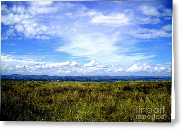 Irish Sky Greeting Card by Nina Ficur Feenan