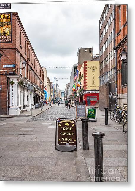 Irish Sweet Shop Greeting Card