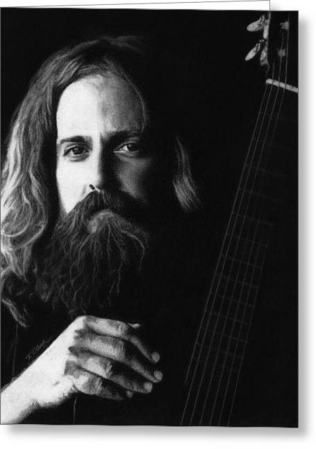 Iron And Wine Greeting Card by Justin Clark