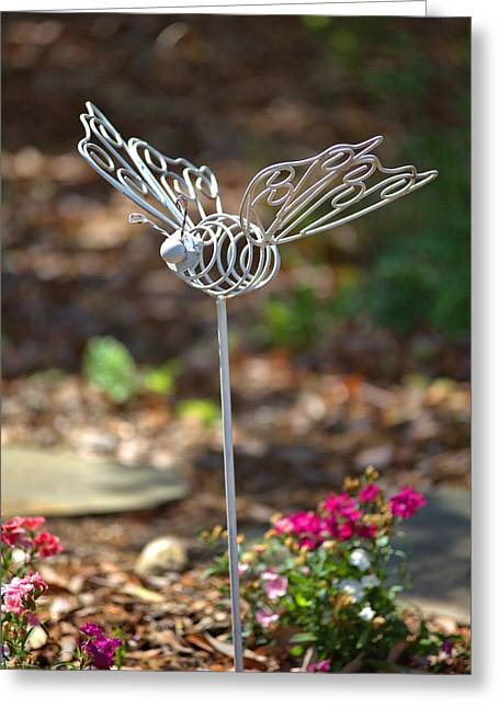 Iron Butterfly Greeting Card by Gordon Elwell