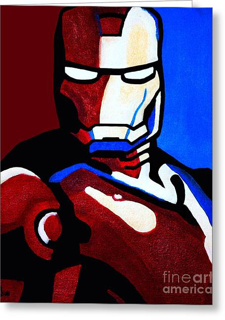 Iron Man 2 Greeting Card