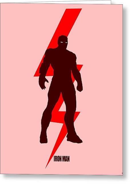 Iron Man Poster Greeting Card