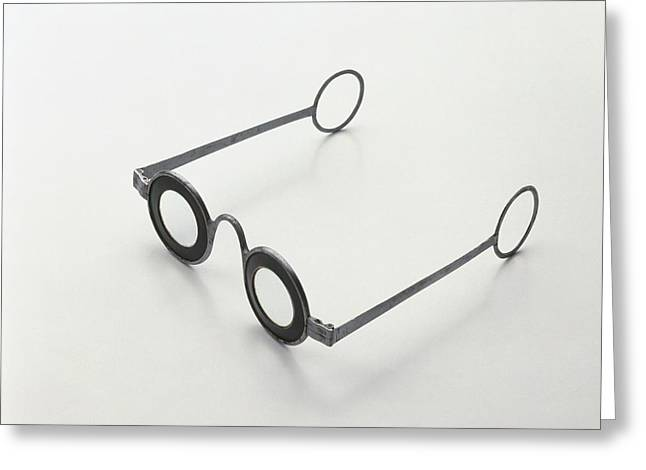 Iron Spectacles Greeting Card by Dorling Kindersley/uig