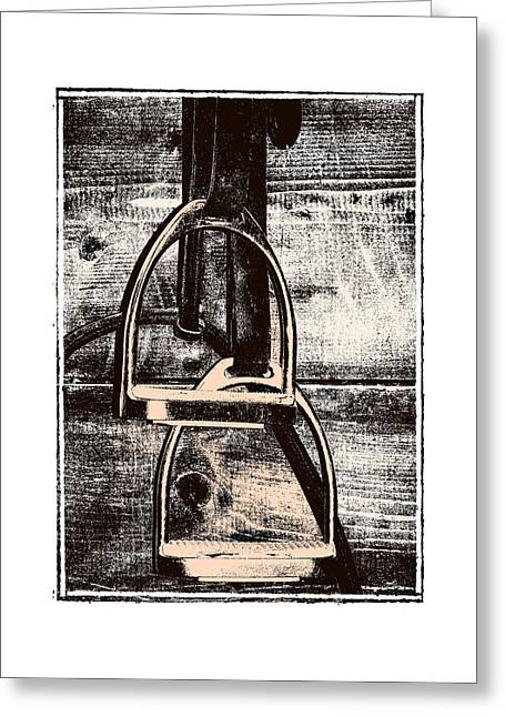 Irons Tack Greeting Card