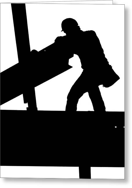 Ironworker 1 Greeting Card