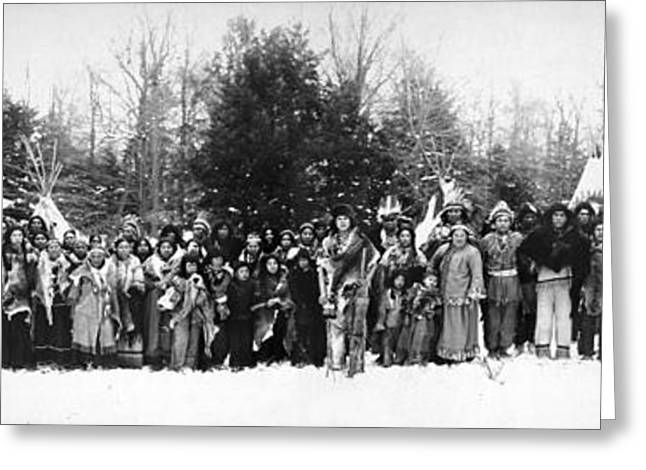 Iroquois Group C1914 Greeting Card by Granger