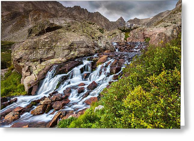 Isabelle Cascades Greeting Card
