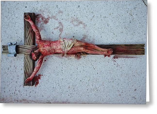 The Lamb Of God Or Isaiah 53 Greeting Card by Gregory Doroshenko