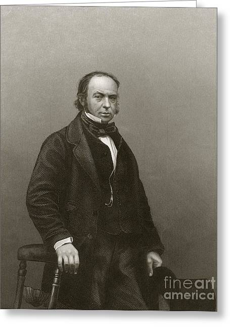 Isambard Kingdom Brunel, British Engineer Greeting Card by Miriam And Ira D. Wallach Division Of Art, Prints And Photographs