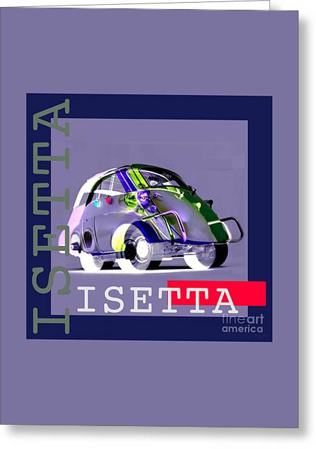 Isetta Greeting Card