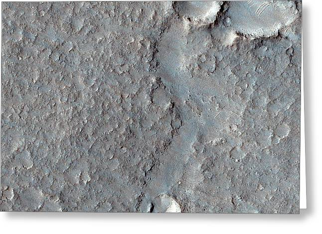 Isidis Planitia Greeting Card by Nasa/jpl-caltech/univ. Of Arizona