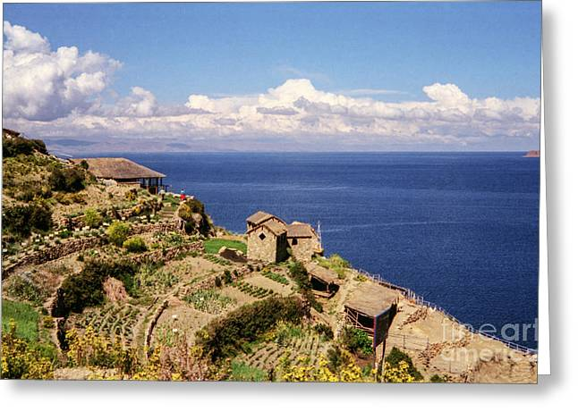 Isla Del Sol Greeting Card