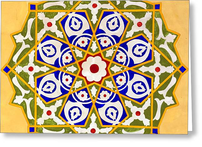 Islamic Art 09 Greeting Card by Antony McAulay