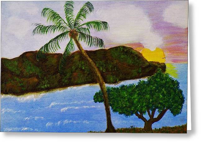 Island Escape Greeting Card