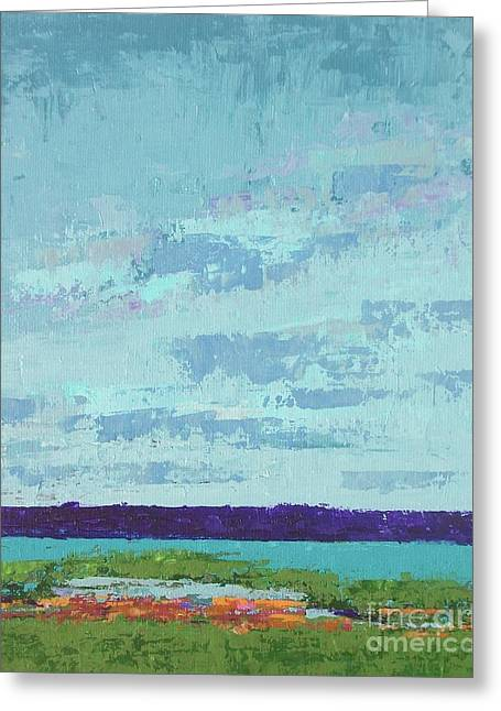 Island Estuary Greeting Card