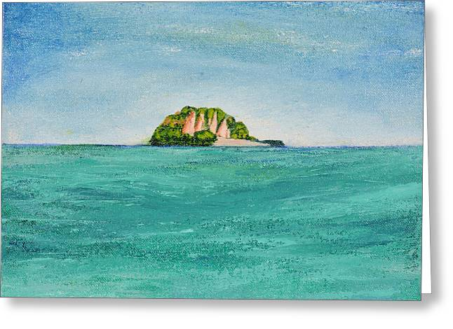 Island For Two Greeting Card