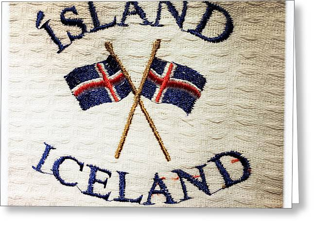 Island Iceland Greeting Card