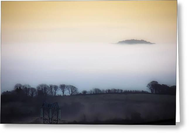 Island In The Irish Mist Greeting Card