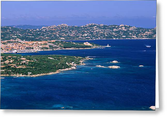 Island In The Sea, Capo Dorso, Palau Greeting Card by Panoramic Images