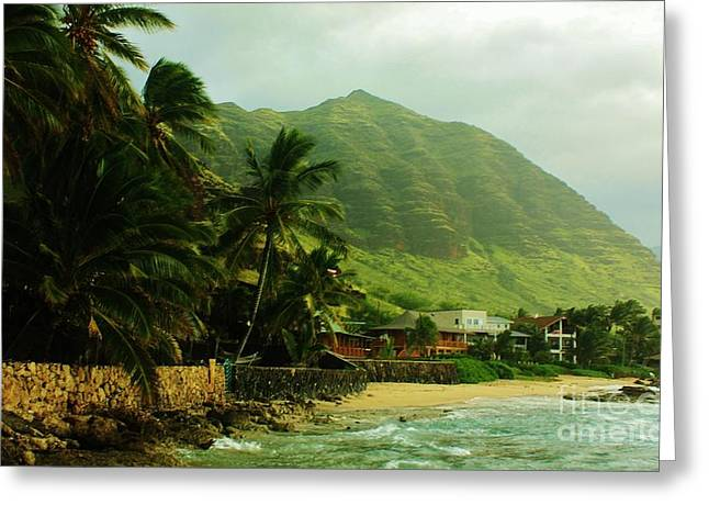 Island Living Greeting Card by Craig Wood