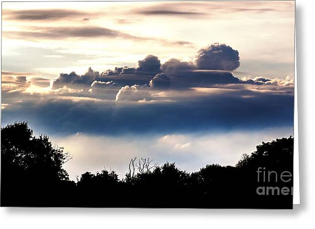 Island Of Clouds Greeting Card
