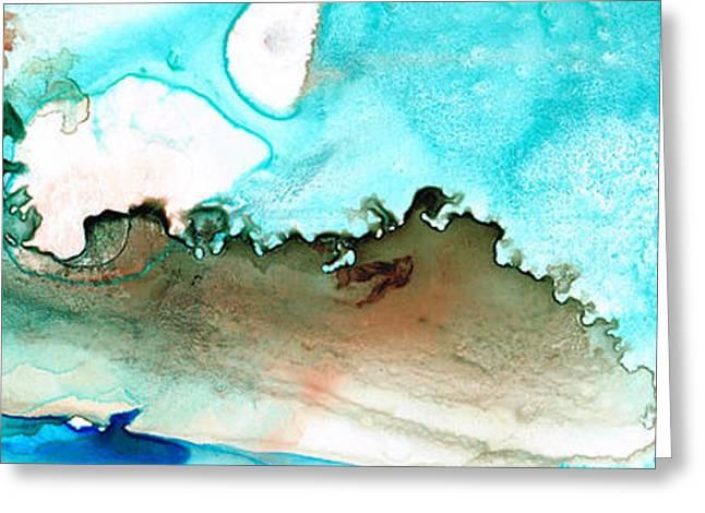 Island Of Hope Greeting Card