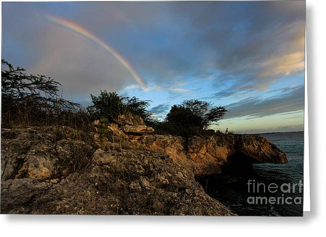 Island Rainbow Greeting Card